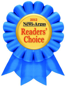 2012 Readers' Choice Award Winner